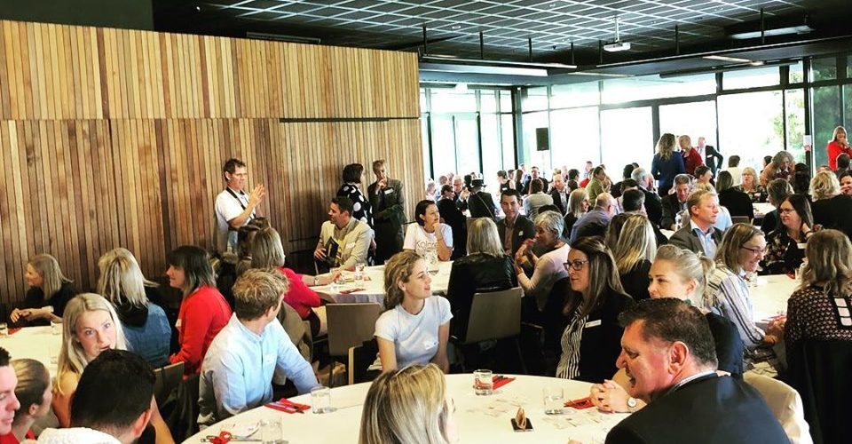Right Honorable Jacinda Ardern With Nelson Tasman Chamber Of Commerce